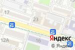 Схема проезда до компании Чикен в Шымкенте