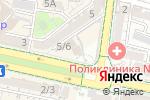 Схема проезда до компании Феерия в Шымкенте