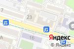 Схема проезда до компании InterPress в Шымкенте