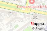 Схема проезда до компании CAVIO Interier в Шымкенте