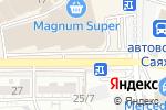 Схема проезда до компании Gippo в Шымкенте