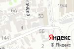 Схема проезда до компании Баня в Шымкенте