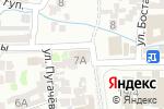 Схема проезда до компании Диля в Шымкенте