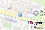 Схема проезда до компании BEК-STOM в Шымкенте