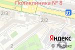 Схема проезда до компании Омега Юг в Шымкенте