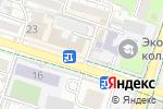 Схема проезда до компании ГРАЖДАНСКИЙ АЛЬЯНС ЮКО в Шымкенте
