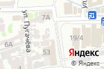 Схема проезда до компании НАРГИЗ в Шымкенте