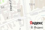 Схема проезда до компании Цех по производству металлических изделий в Шымкенте