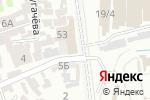 Схема проезда до компании Kaizer в Шымкенте