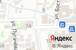 Схема проезда до компании НИГОРА в Шымкенте