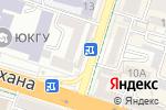 Схема проезда до компании Лимонад Джо в Шымкенте