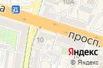 Схема проезда до компании Электроника в Шымкенте