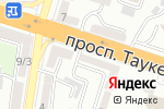 Схема проезда до компании Ломбард Копилка, ТОО в Шымкенте