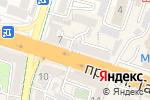 Схема проезда до компании Пункт по продаже фастфудной продукции в Шымкенте