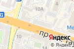 Схема проезда до компании ДариТел в Шымкенте