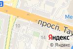 Схема проезда до компании Рапия в Шымкенте