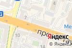 Схема проезда до компании Раяна в Шымкенте