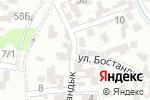 Схема проезда до компании Сетора в Шымкенте