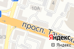Схема проезда до компании Пункт по продаже шаурмы в Шымкенте