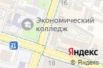 Схема проезда до компании Акжан в Шымкенте