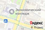 Схема проезда до компании Orange в Шымкенте
