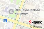 Схема проезда до компании Аквамарин, ТОО в Шымкенте
