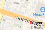 Схема проезда до компании Bon Ar в Шымкенте