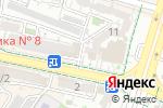 Схема проезда до компании Якутские бриллианты в Шымкенте
