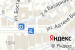 Схема проезда до компании ЕВРОЛЮКС в Шымкенте