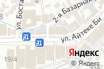 Схема проезда до компании ВИКИНГ в Шымкенте