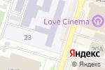 Схема проезда до компании Высший колледж новых технологий в Шымкенте