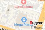 Схема проезда до компании Lavaggio в Шымкенте