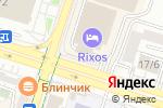Схема проезда до компании Giftkz в Шымкенте