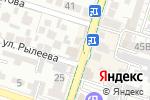 Схема проезда до компании Continental в Шымкенте