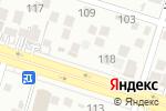 Схема проезда до компании Мерей в Шымкенте