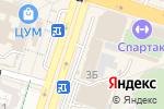 Схема проезда до компании DDA CARGO, ТОО в Шымкенте
