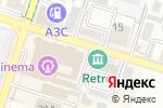 Схема проезда до компании AINUR TURISBEK в Шымкенте