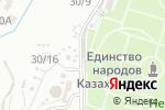 Схема проезда до компании Лаваш-центр в Шымкенте