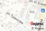 Схема проезда до компании Номер 4 в Шымкенте