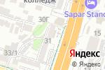 Схема проезда до компании Адвокат Ботаев Б.Б в Шымкенте
