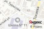 Схема проезда до компании Магазин по продаже канцелярских товаров в Шымкенте