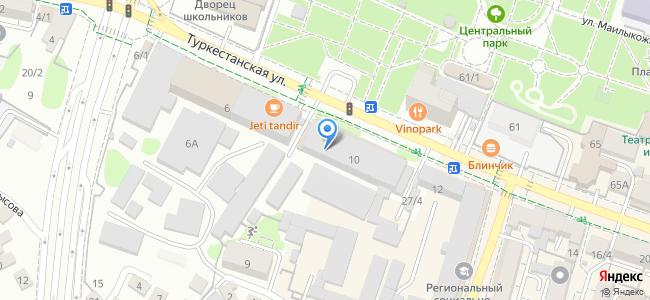 "Туркестанская 6 А, здание фабрики """"ЭЛАСТИК"", четвертый этаж."
