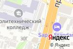 Схема проезда до компании Канны в Шымкенте