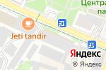 Схема проезда до компании АРТ МЕБЕЛЬ в Шымкенте
