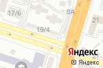 Схема проезда до компании Exellence в Шымкенте