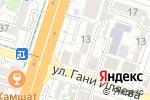 Схема проезда до компании SCAT AIRLINES в Шымкенте
