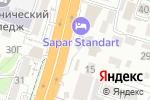 Схема проезда до компании J-Club English courses в Шымкенте