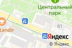 Схема проезда до компании VINOPARK в Шымкенте
