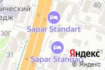 Схема проезда до компании DaNur Travel в Шымкенте
