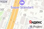 Схема проезда до компании Шелковый путь в Шымкенте